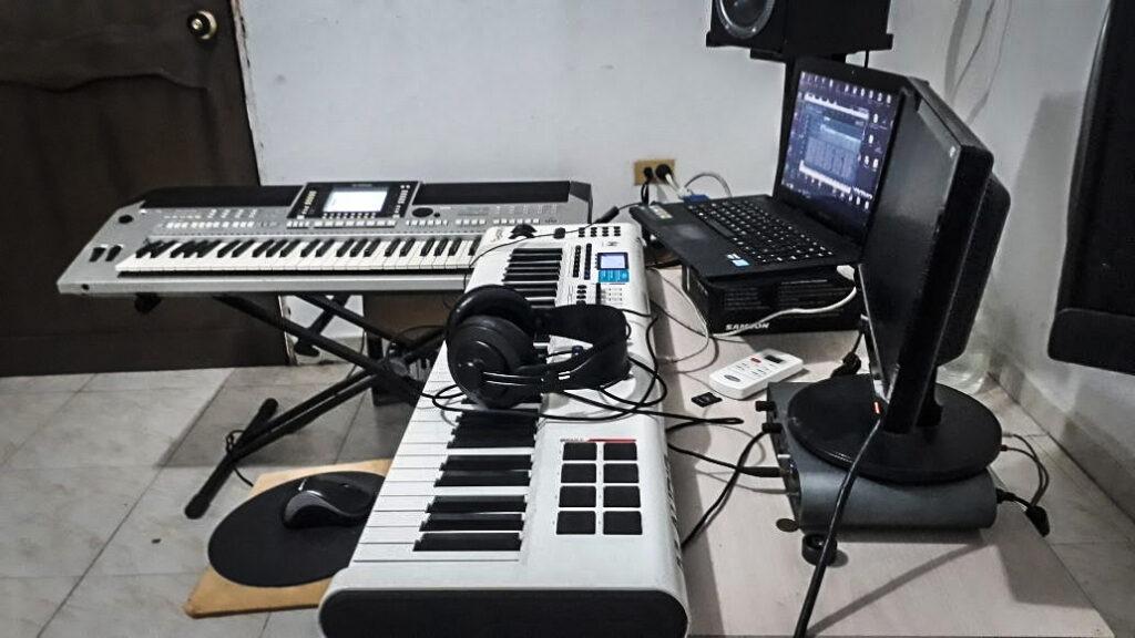 Nuestro estudio musical